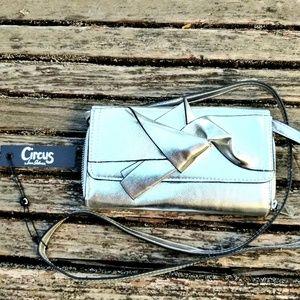 Sam Edelman Circus Silver Bow Wallet